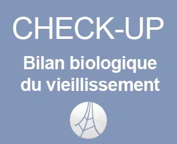 checkup bilan biologique du vieillissement